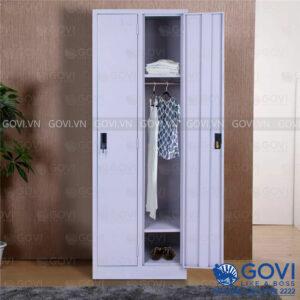 Tủ sắt treo quần áo QA01D