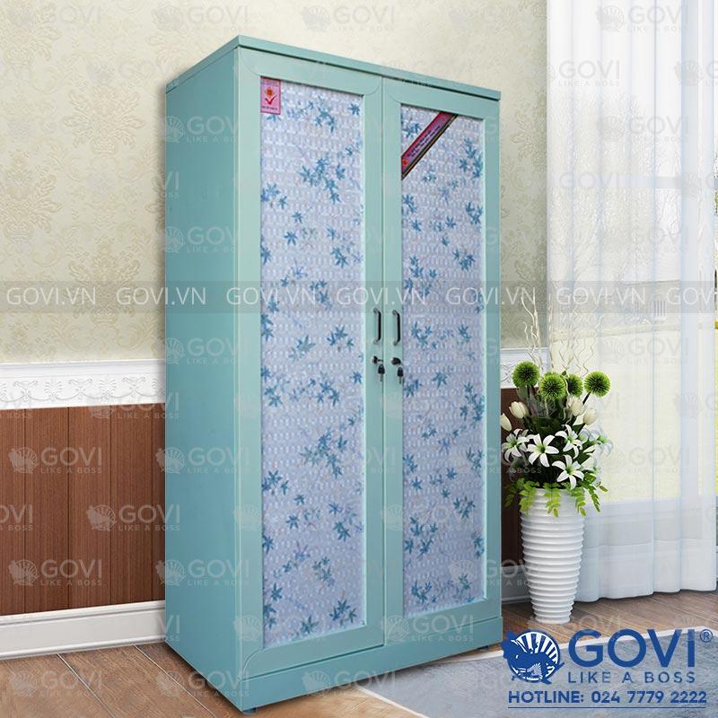 Tủ đựng quần áo bằng sắt QA01E