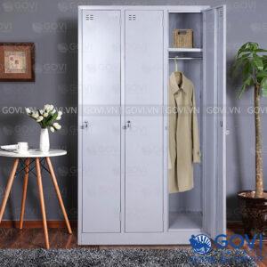 Tủ sắt đựng quần áo QA02