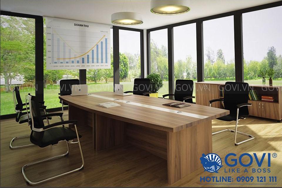 Bàn họp văn phòng lớn Classic 3m6 CL3615-T