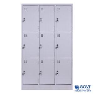 Tủ locker sắt 9 ngăn LK09