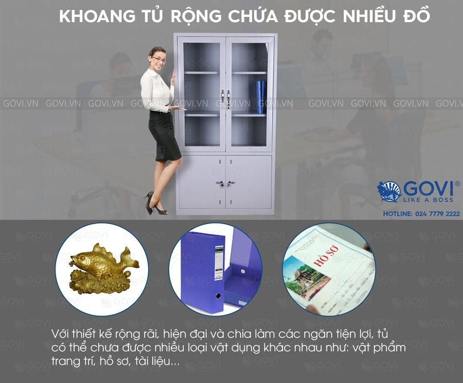 Tủ sắt tài liệu TL01-8