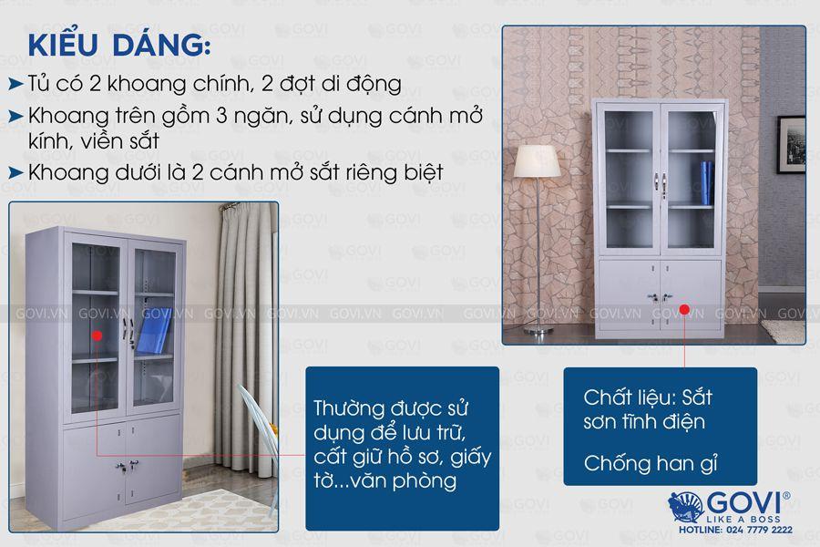 Tủ sắt tài liệu TL01-4