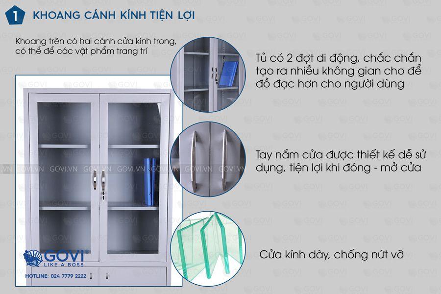 Tủ sắt tài liệu TL01-5