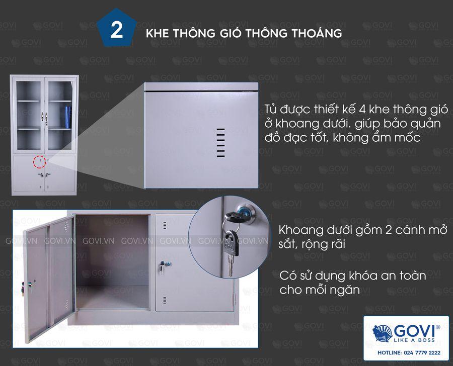 Tủ sắt tài liệu TL01-6