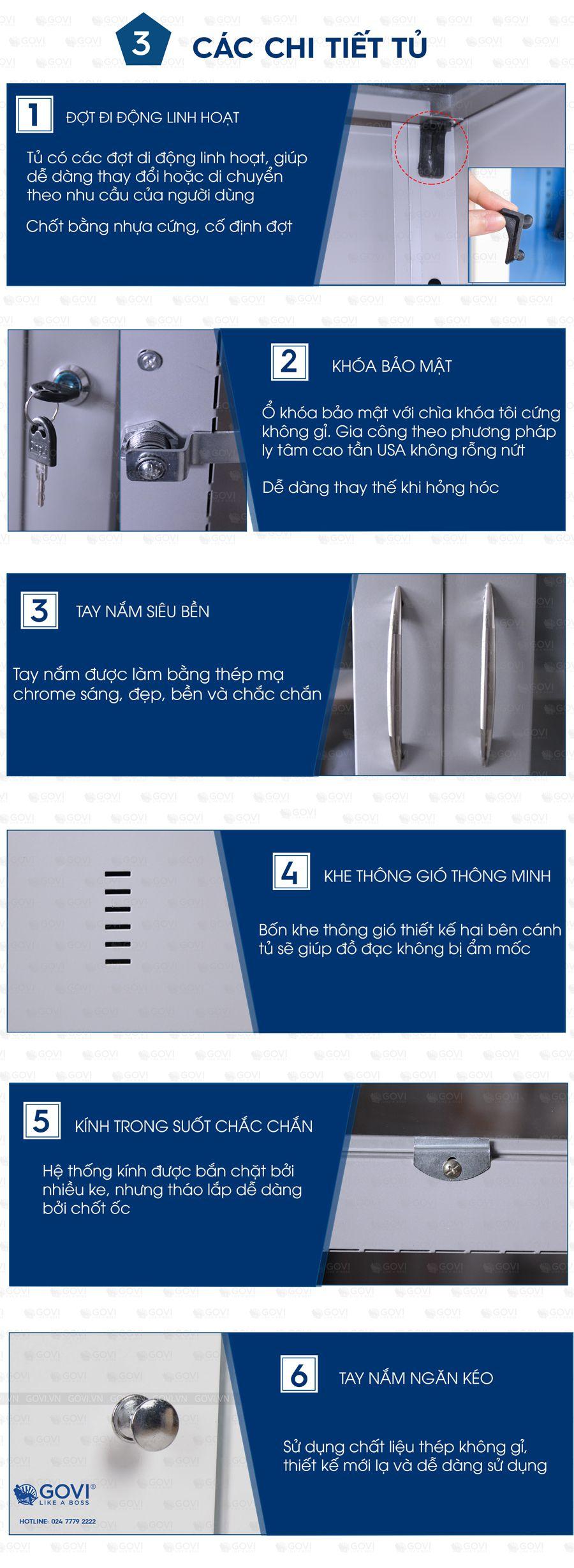 Tủ sắt tài liệu TL01-7