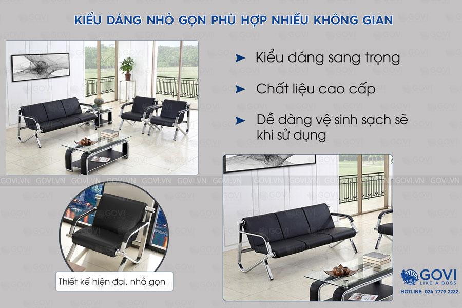 Sofa văn phòng cao cấp Sofa02-18 D2