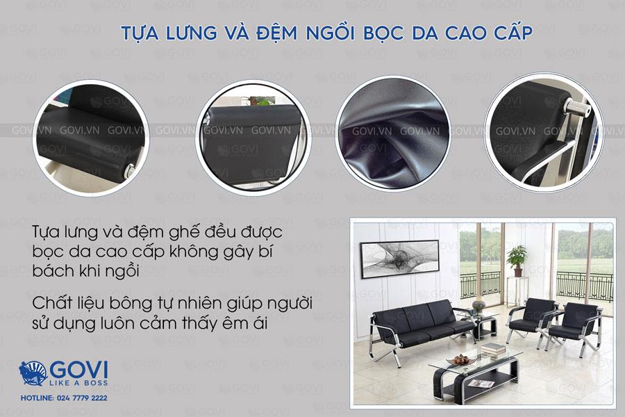 Sofa văn phòng cao cấp Sofa02-18 D3