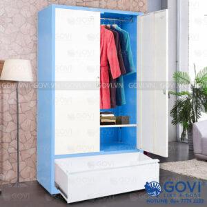 Tủ sắt đựng quần áo QA01K-X