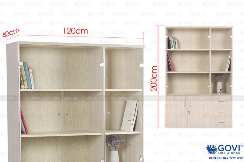 Tủ tài liệu Classic CL200 cánh kính-8