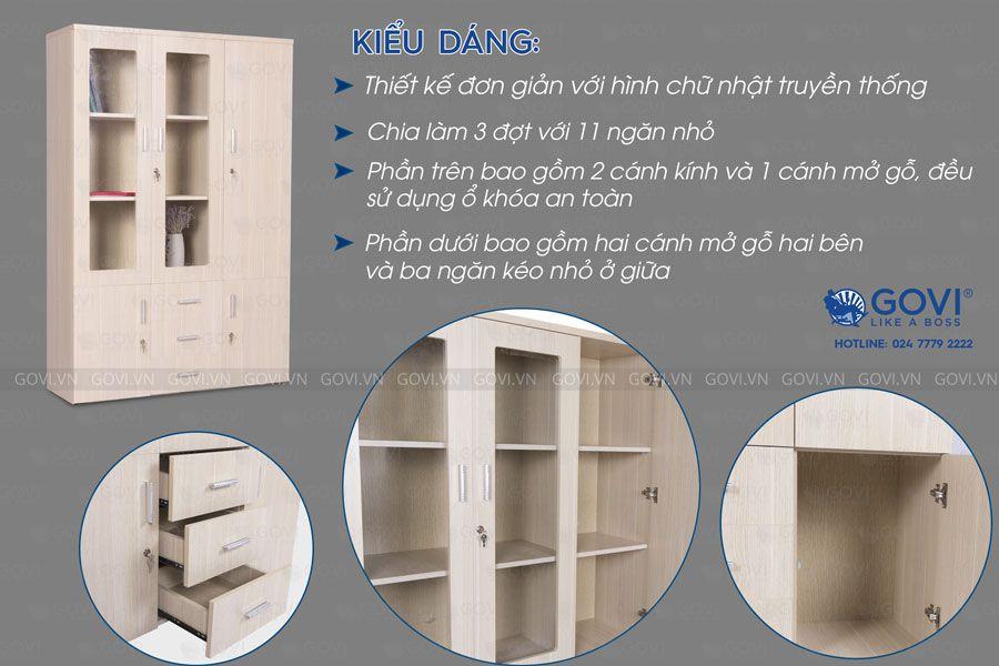 Tủ tài liệu Classic 17 CL200-2