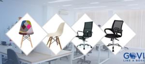 Giá ghế xoay văn phòng trên thị trường nội thất hiện nay
