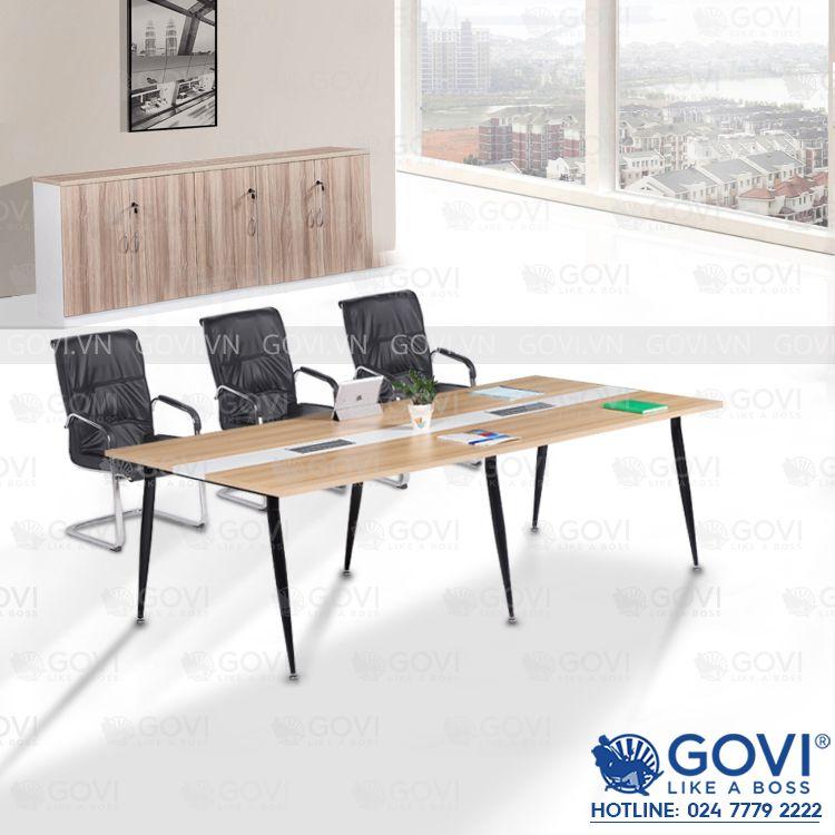 Bàn họp văn phòng chân côn 2m4 Eros ER2412-06
