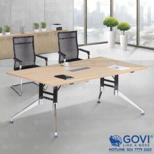 Bàn họp văn phòng chân hợp kim cao cấp 2m Iris IR2010-15