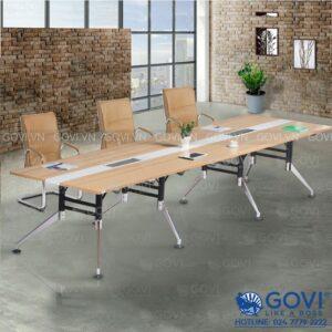 Bàn họp văn phòng chân hợp kim cao cấp 3m6 Iris IR3612-06