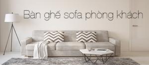 Những mẫu bàn ghế sofa phòng khách giá rẻ cực hot tại Govi