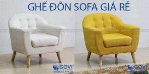 Lưu ý khi chọn mua ghế đôn sofa giá rẻ
