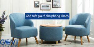Có nên mua ghế sofa giá rẻ cho phòng khách gia đình?