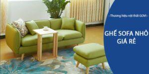 Tư vấn mua ghế sofa nhỏ giá rẻ