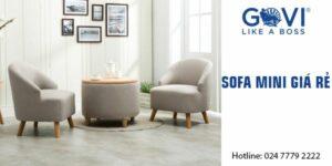 Hướng dẫn chọn sofa mini giá rẻ cho căn hộ nhỏ