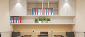 Văn phòng làm việc có diện tích hẹp nên sử dụng tủ tài liệu loại nào?