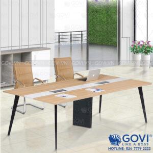 Bàn họp văn phòng chân sắt 2m4 Gaia GA2412-06