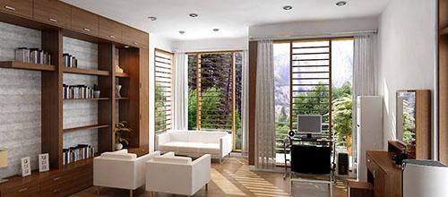 Bí quyết giúp bạn phối màu nội thất với sàn gỗ màu tối
