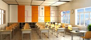 Thiết kế nội thất trường học bạn cần lưu ý những gì?