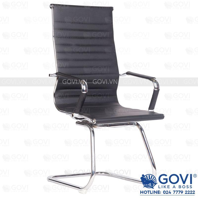 Ghế phòng họp chân quỳ da GD9