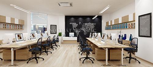 Ý tưởng thiết kế văn phòng làm việc với những sản phẩm nội thất trung cổ