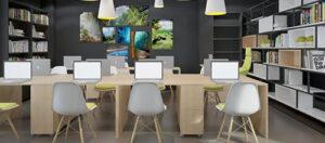 Ý tưởng thiết kế văn phòng làm việc hỗ trợ phát triển thương hiệu