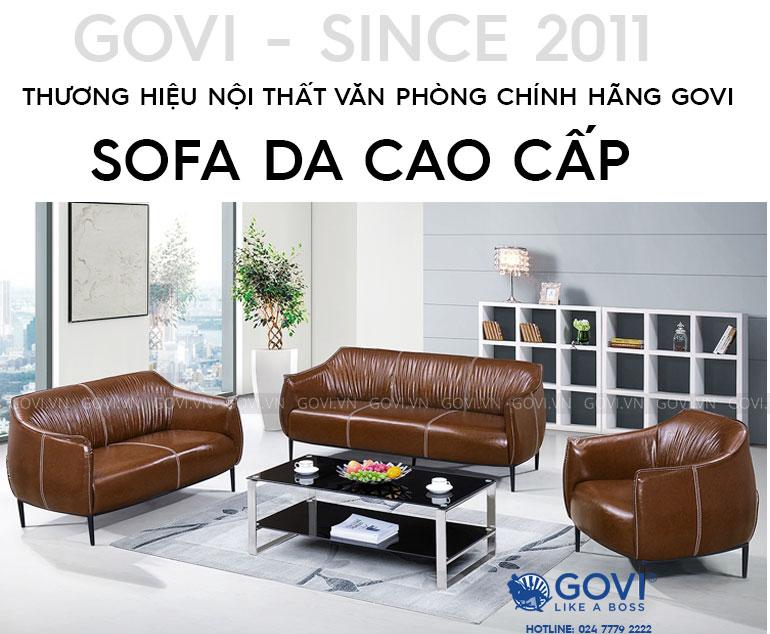 Sofa da cao cấp Sofa06-18-N1
