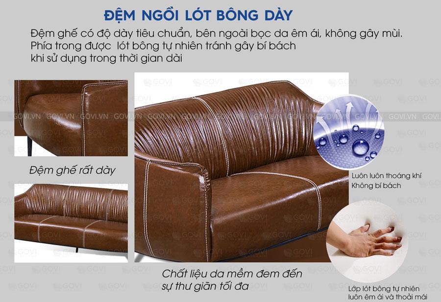Sofa da cao cấp Sofa06-18-N5
