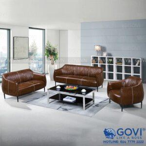 Sofa da cao cấp Sofa06-18-N