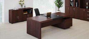 Những thiết kế bàn lãnh đạo khẳng định được vị thế của người đứng đầu doanh nghiệp