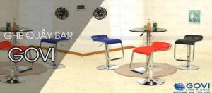 Ưu điểm của dòng ghế quầy bar Govi