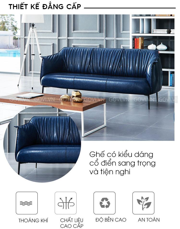 Sofa da cao cấp Sofa06-18-X2
