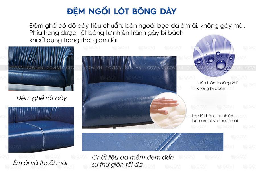 Sofa da cao cấp Sofa06-18-X6