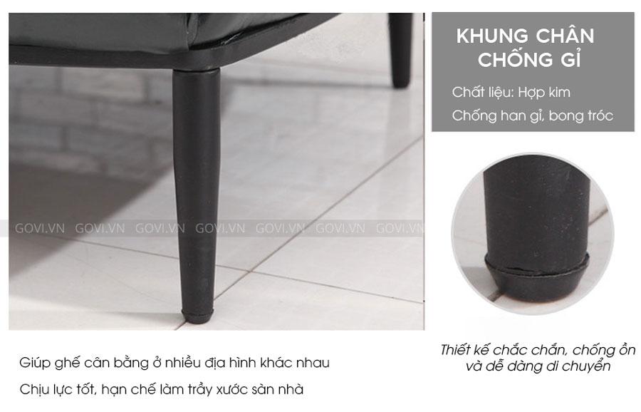 Sofa da cao cấp Sofa06-18 màu đen 7