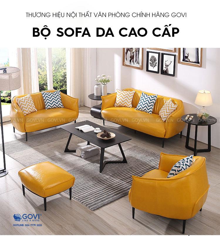 Sofa da cao cấp Sofa06-18-V1
