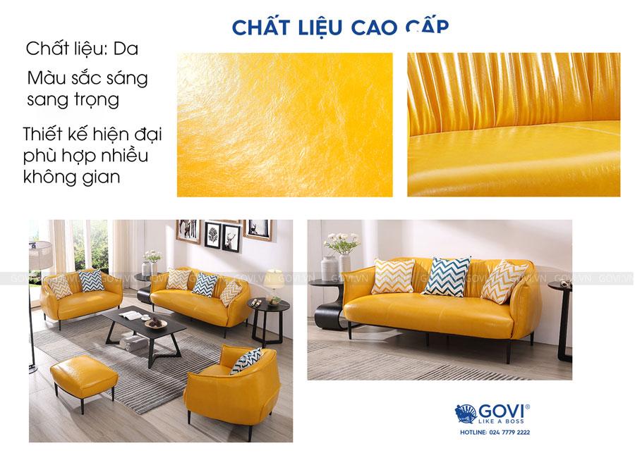 Sofa da cao cấp Sofa06-18-V3