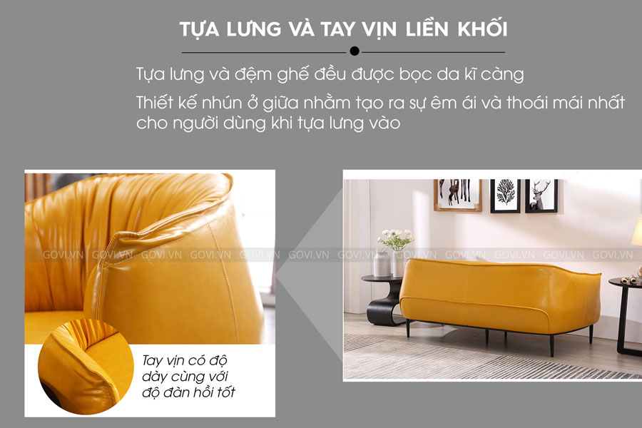 Sofa da cao cấp Sofa06-18-V4