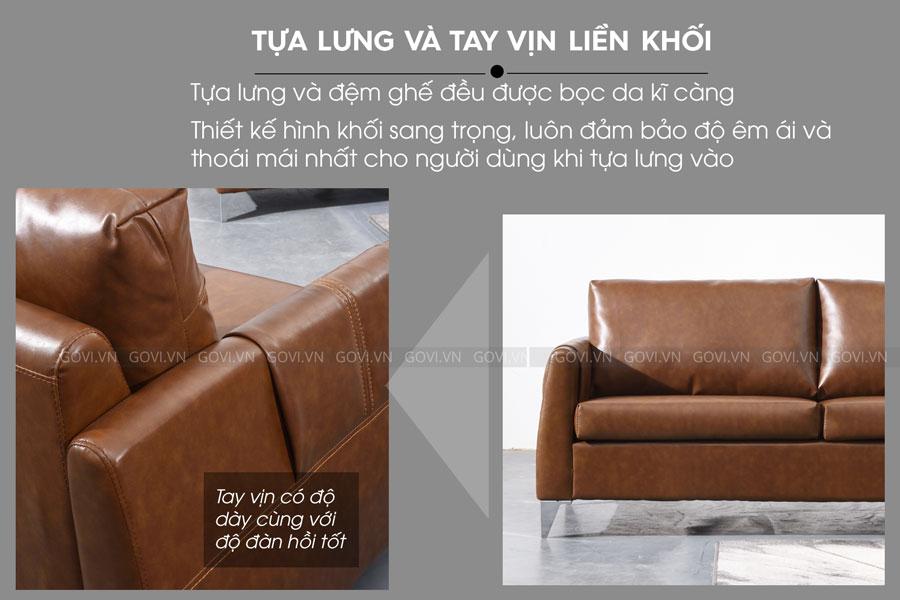 Sofa da cao cấp Sofa08-16-N4