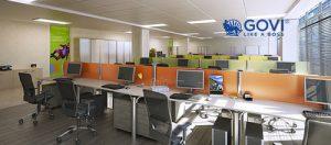 Thiết kế nội thất văn phòng theo không gian mở