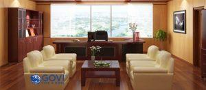 Vị trí đặt bàn làm việc dành cho giám đốc