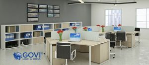 Nội thất văn phòng thông minh – lựa chọn lý tưởng cho doanh nghiệp