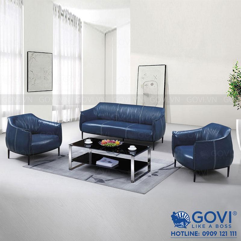 Sofa da cao cấp Sofa06-18-X