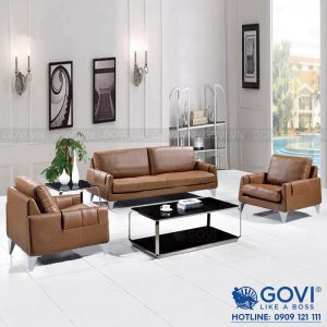 Sofa da cao cấp Sofa08-16-N