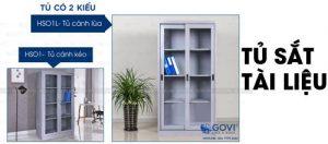Tủ sắt đựng tài liệu Govi: không gian văn phòng hiện đại và chuyên nghiệp hơn