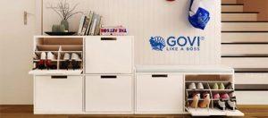 Tủ để giày Govi tạo nên sự gọn gàng cho mọi không gian